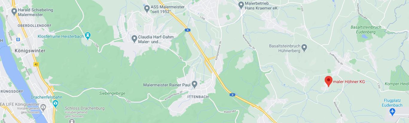 Standort Maler Höhner Königswinter